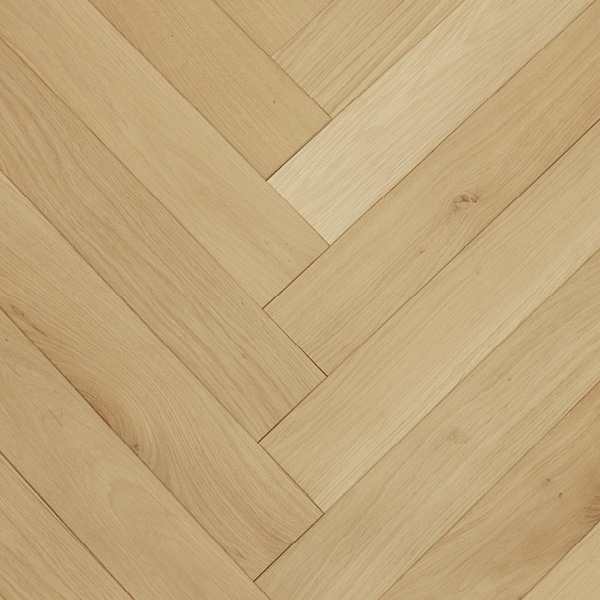 Long and narrow Herringbone Oak Block Parquet