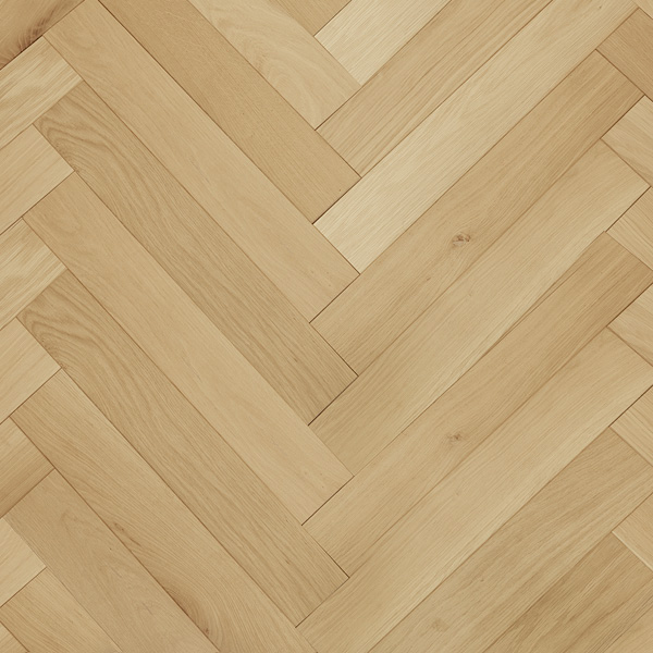 Short and narrow Herringbone Oak Block Parquet