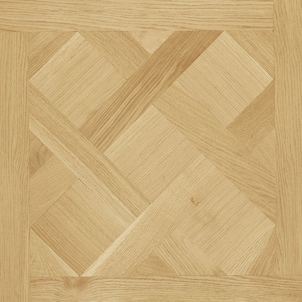 French Parquetry Panel, square edged, solid timber