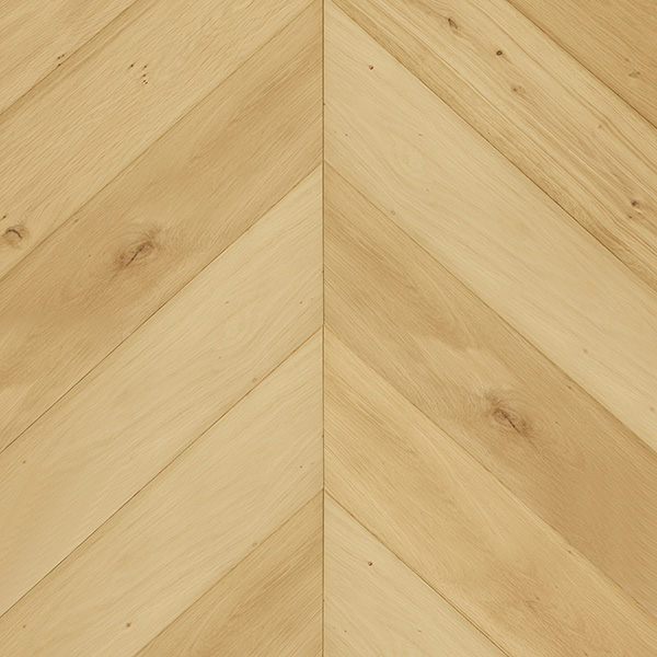 Long and wide Chevron Plank